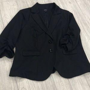 torrid black stretchy blazer - sz 2X